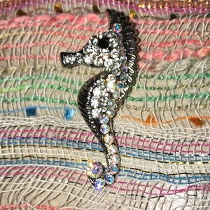 Jewelry - Seahorse Pin !!!